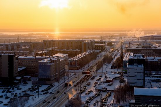 Surgut, Russia - the view from above, photo 24