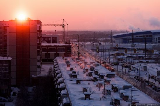 Surgut, Russia - the view from above, photo 25