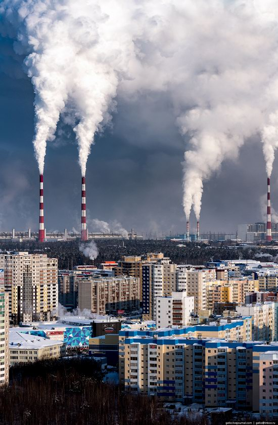 Surgut, Russia - the view from above, photo 27