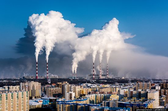Surgut, Russia - the view from above, photo 28