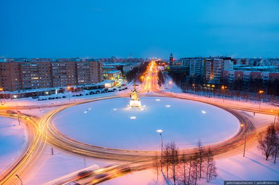 Surgut, Russia - the view from above, photo 3