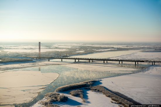 Surgut, Russia - the view from above, photo 30