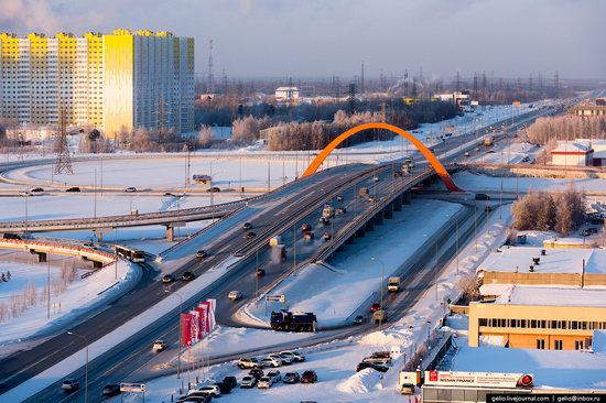 Surgut, Russia - the view from above, photo 8
