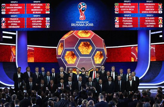 Final Draw of the FIFA World Cup 2018 in Russia, photo 2
