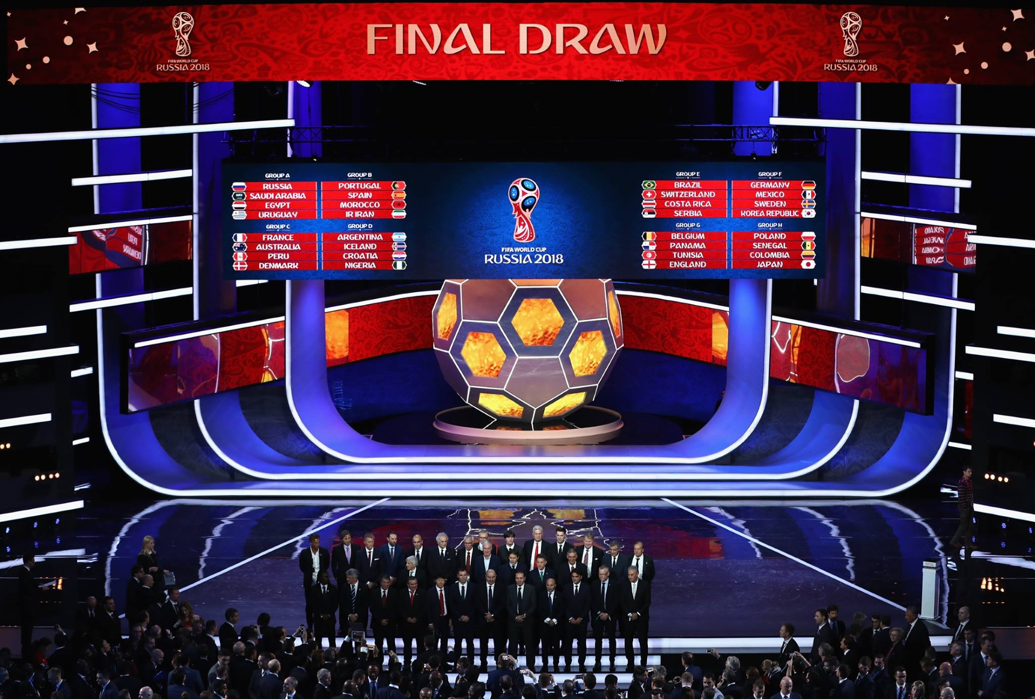Final Draw of the FIFA World Cup 2018 in Russia · Russia ...