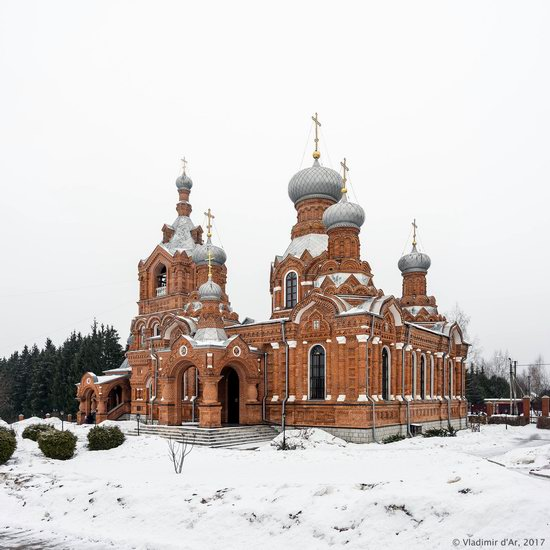 Holy Cross Church in Darna, Moscow region, Russia, photo 1