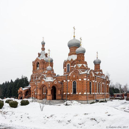 Holy Cross Church in Darna, Moscow region, Russia, photo 1