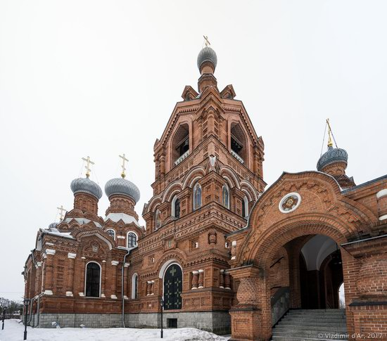 Holy Cross Church in Darna, Moscow region, Russia, photo 16