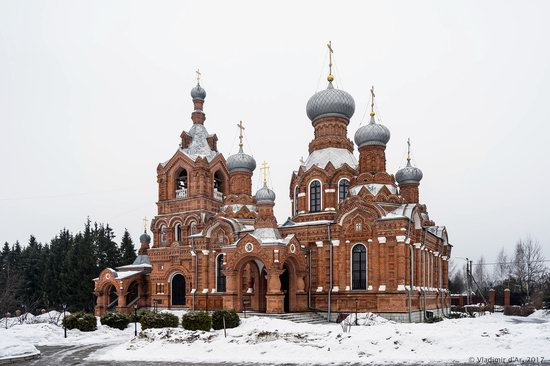 Holy Cross Church in Darna, Moscow region, Russia, photo 17