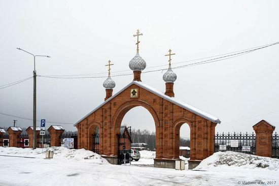 Holy Cross Church in Darna, Moscow region, Russia, photo 2