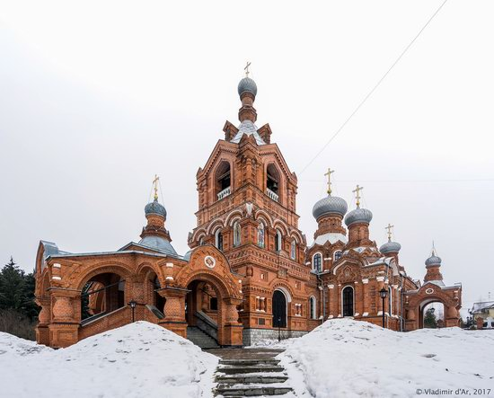 Holy Cross Church in Darna, Moscow region, Russia, photo 21