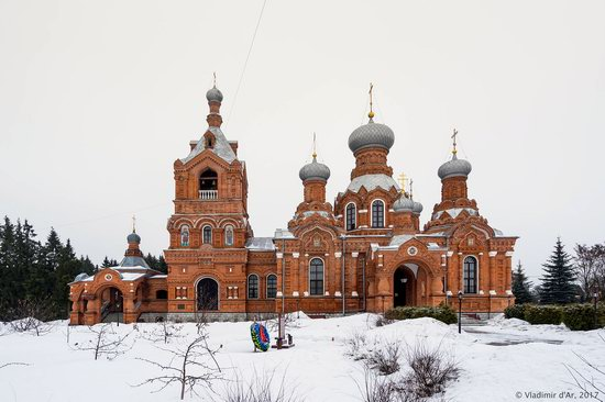 Holy Cross Church in Darna, Moscow region, Russia, photo 3