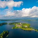 Lake Valdai – the view from above