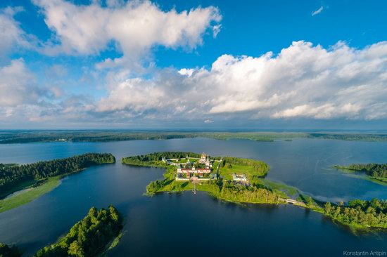 Lake Valdai, Russia - the view from above, photo 1