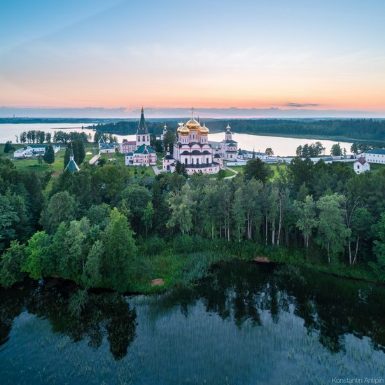 Lake Valdai, Russia - the view from above, photo 10