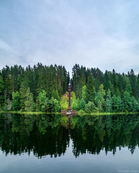 Lake Valdai, Russia - the view from above, photo 12