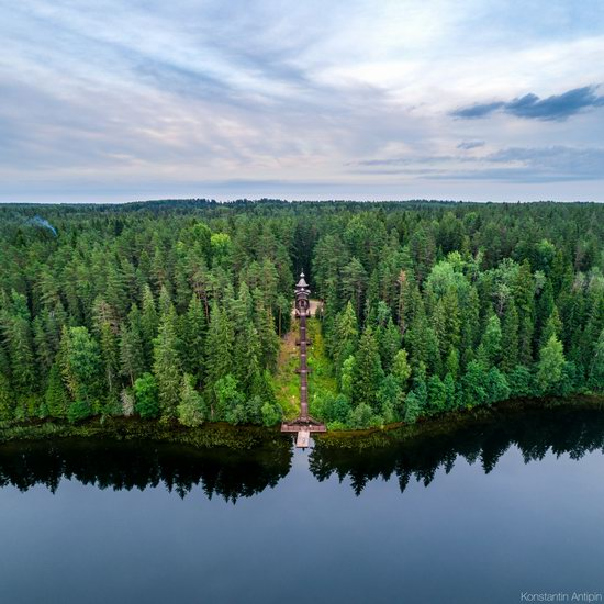 Lake Valdai, Russia - the view from above, photo 13