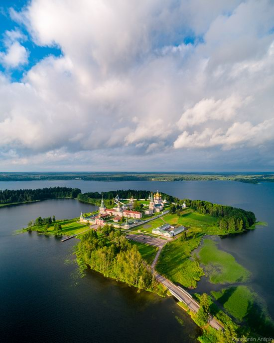 Lake Valdai, Russia - the view from above, photo 3