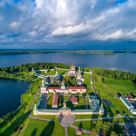 Lake Valdai, Russia - the view from above, photo 4