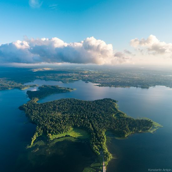 Lake Valdai, Russia - the view from above, photo 6