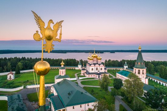 Lake Valdai, Russia - the view from above, photo 8