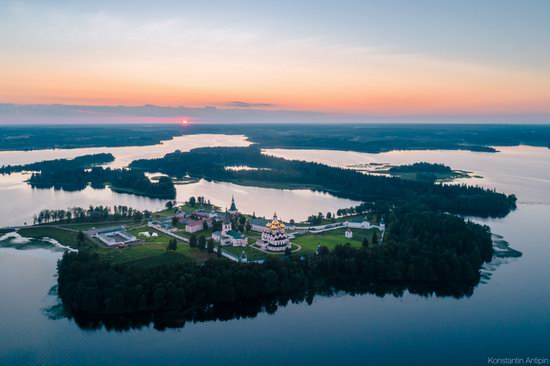 Lake Valdai, Russia - the view from above, photo 9