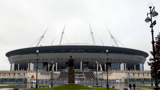 Krestovsky Stadium in Saint Petersburg, Russia, photo 1