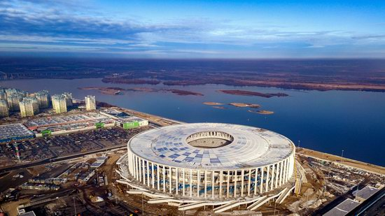 Nizhny Novgorod Stadium in Nizhny Novgorod, Russia, photo 1