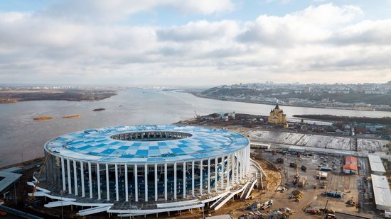 Nizhny Novgorod Stadium in Nizhny Novgorod, Russia, photo 2
