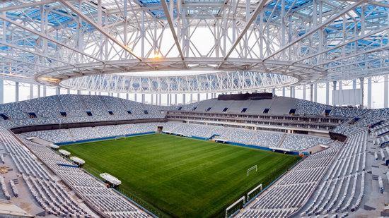 Nizhny Novgorod Stadium in Nizhny Novgorod, Russia, photo 3