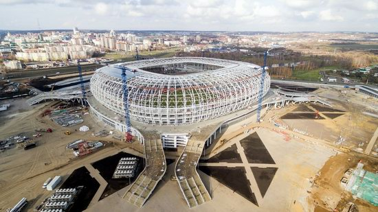 Mordovia Arena stadium in Saransk, Russia, photo 1