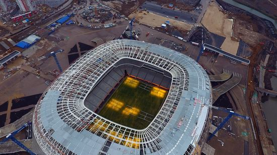 Mordovia Arena stadium in Saransk, Russia, photo 2