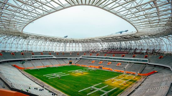 Mordovia Arena stadium in Saransk, Russia, photo 3