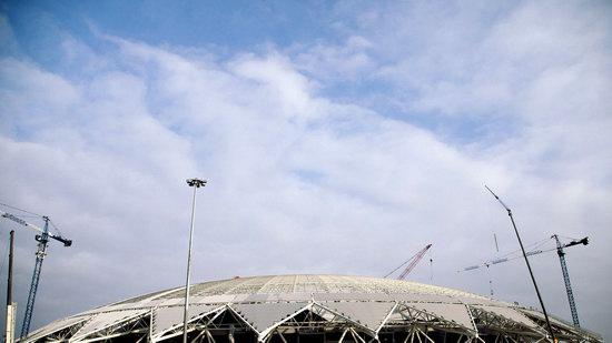 Cosmos Arena stadium in Samara, Russia, photo 2