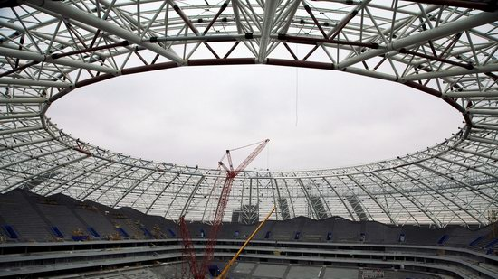 Cosmos Arena stadium in Samara, Russia, photo 3