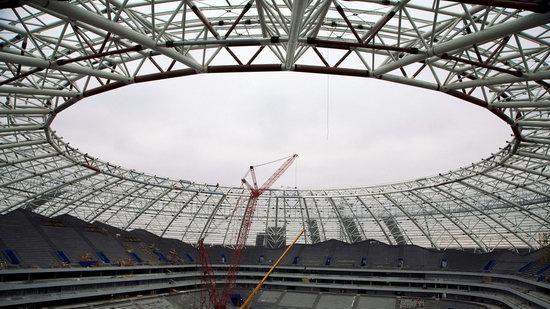 Cosmos Arena stadium in Samara, Russia, photo 3