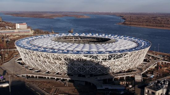Volgograd Arena stadium in Volgograd, Russia, photo 1