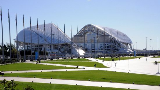 Fisht Stadium in Sochi, Russia, photo 1
