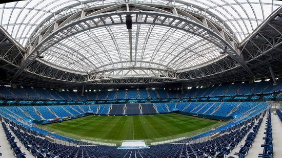 Krestovsky Stadium in Saint Petersburg, Russia, photo 3