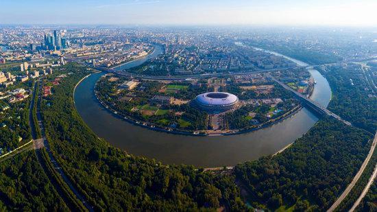 Luzhniki Stadium in Moscow, Russia, photo 1