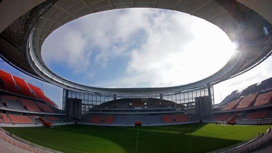 Ekaterinburg Arena stadium in Ekaterinburg, Russia, photo 3