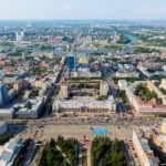 Chelyabinsk – the view from above