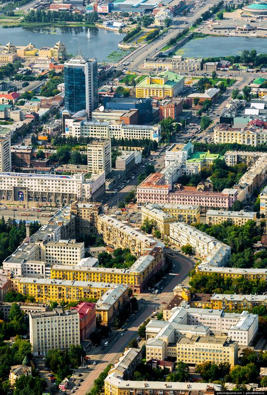Chelyabinsk, Russia - the view from above, photo 10