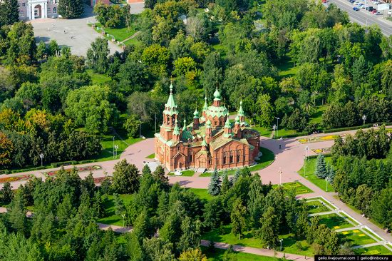 Chelyabinsk, Russia - the view from above, photo 11