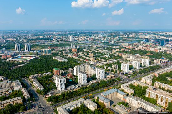 Chelyabinsk, Russia - the view from above, photo 13