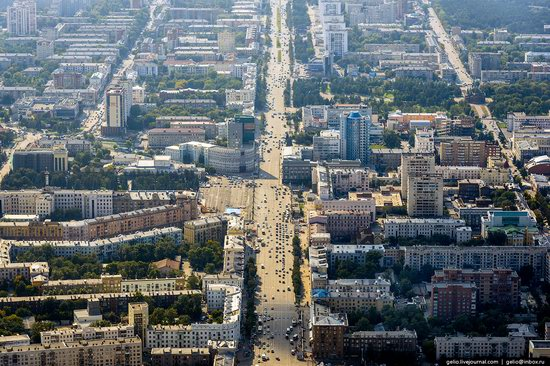 Chelyabinsk, Russia - the view from above, photo 15