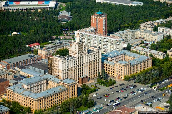 Chelyabinsk, Russia - the view from above, photo 16