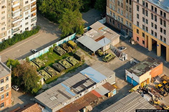 Chelyabinsk, Russia - the view from above, photo 17