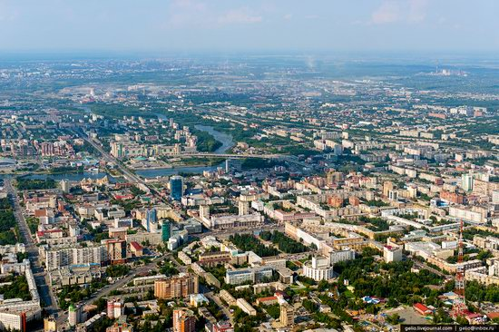 Chelyabinsk, Russia - the view from above, photo 2
