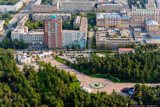 Chelyabinsk, Russia - the view from above, photo 24